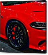 2015 Dodge Charger Srt Hellcat Acrylic Print