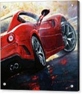 2015 Ferrari 599 Gtb Fiorano Acrylic Print