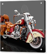 2015 Indian Chief Vintage Motorcycle - 3 Acrylic Print