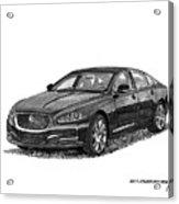 2015 Jaguar X J L Acrylic Print