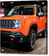 2015 Jeep Renegade Trailhawk Number 3 Acrylic Print
