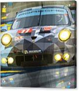 2015 Le Mans Gte-am Porsche 911 Rsr Acrylic Print