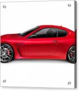 2015 Maserati Granturismo Mc Centennial Edition Luxury Car Side  Acrylic Print