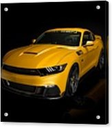 2015 Saleen Mustang S302 Black Label  Acrylic Print