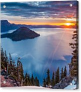 2015 Spring Sunrise From Discovery Point Acrylic Print