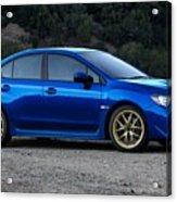 2015 Subaru Wrx Sti Acrylic Print