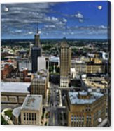 2015 View Of Court Street Acrylic Print