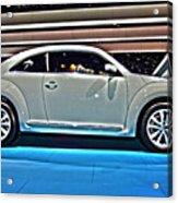 2015 Volkswagen Beetle Acrylic Print