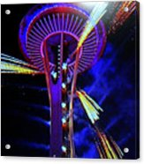 2016 At The Space Needle Acrylic Print