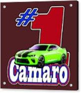 2016 Camaro Acrylic Print