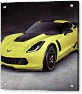 2016 Chevrolet Corvette Z06 Coupe Sports Car Acrylic Print