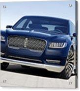 2016 Lincoln Continental Concept Acrylic Print