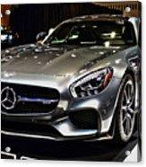 2016 Mercedes-amg Gts Acrylic Print