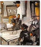 2016 Paints Institute Original Acrylic Print