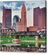 2017 Columbus Panoramic Acrylic Print