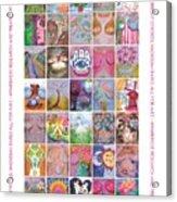2017 Commemorative Breast Strokes Poster Acrylic Print