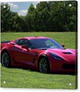2017 Corvette Acrylic Print
