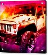 2017 Jeep Unlimited Beast Acrylic Print