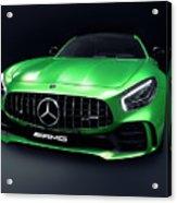 2017 Mercedes Amg Gt R Coupe Sports Car Acrylic Print