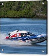 2017 Taree Race Boats 01 Acrylic Print