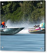 2017 Taree Race Boats 08 Acrylic Print