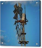 2017_08_midland Tx_windmill 8 Acrylic Print