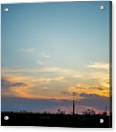 2017_09_midkiff Tx_rigs At Sunset 3 Acrylic Print