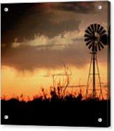 2017_09_midland Tx_windmill 1 Acrylic Print