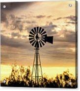 2017_09_midland Tx_windmill 6 Acrylic Print