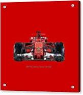 2017scuderia Ferrari Sf70h Acrylic Print