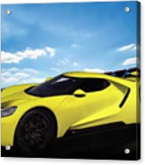 2018 Ford Gt At The Track Acrylic Print