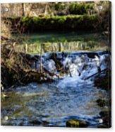 2018_2_12  Mountian Stream-4218 Acrylic Print