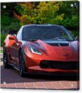 201x  Corvette 'copperhead' C7 Acrylic Print