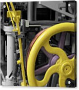 20th Century Mechanical Machinery Sc Acrylic Print
