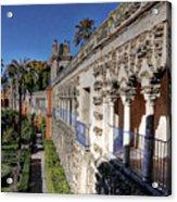 Alcazar Seville Sevilla Andalucia Spain Acrylic Print