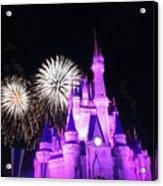 Cinderella Castle Acrylic Print