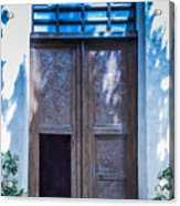 Doors Acrylic Print
