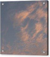 Evening Summer Sky Acrylic Print