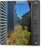 Back Alley On The Prairies Acrylic Print