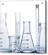 Laboratory Equipment In Science Research Lab Acrylic Print
