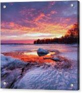 Lake Winnipesaukee Acrylic Print