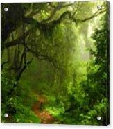 Landscape Work Acrylic Print