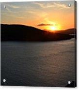 Sunset Dingle Acrylic Print