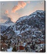 Zermatt - Switzerland Acrylic Print