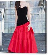 Fashion Shoot Acrylic Print