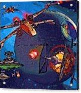 Galaxies Star Wars Poster Acrylic Print