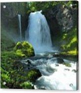 K D Landscape Acrylic Print