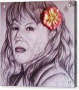 Linda Acrylic Print