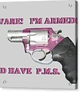 22 Magnum Acrylic Print