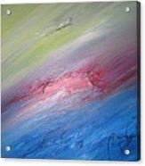 Original Abstract Masterpiece Acrylic Print